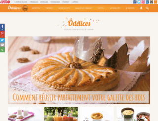 odelices.com screenshot