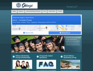 odenzascholarships.com screenshot