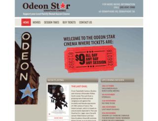 odeonstar.com.au screenshot