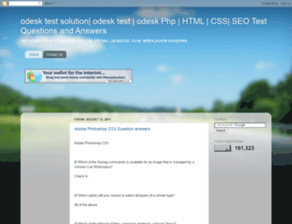 odesksolution.blogspot.com screenshot