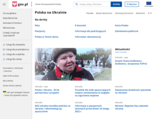 odessa.msz.gov.pl screenshot
