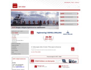 odfjell.safe.no screenshot