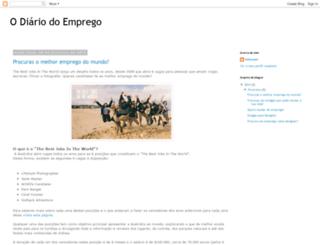 odiariodoemprego.blogspot.pt screenshot