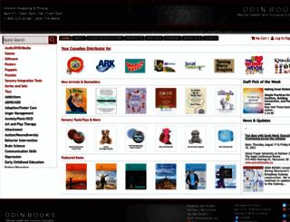 odinbooks.ca screenshot