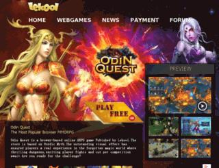 odinquest.lekoolgames.com screenshot