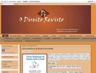 odireitorevisto.blogspot.com.br screenshot