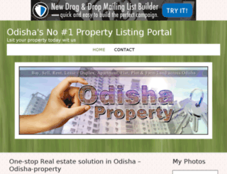 odisha-property.bravesites.com screenshot