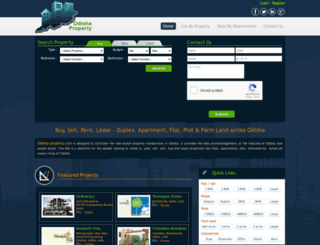 odisha-property.com screenshot