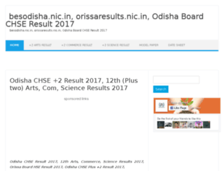 odisha.12thresultsnic.in screenshot