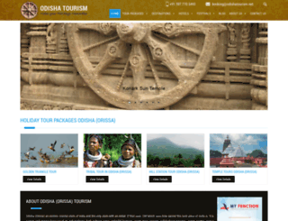 odishatourism.net screenshot