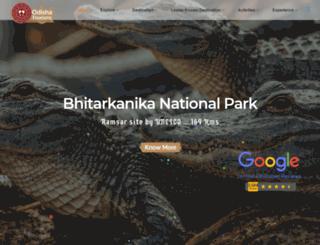 odishatourisms.com screenshot