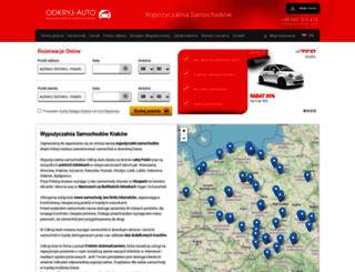 odkryj-auto.pl screenshot