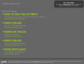 odlablommor.com screenshot