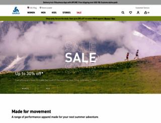 odlo.com screenshot