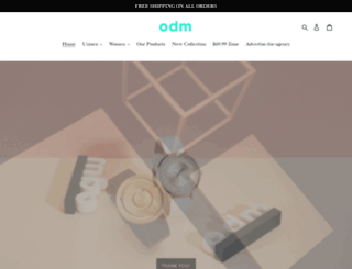 odm-design.com screenshot