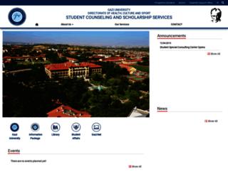 odm.gazi.edu.tr screenshot