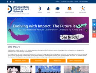 odnetwork.org screenshot