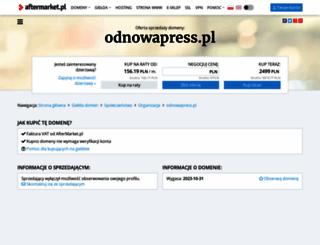 odnowapress.pl screenshot