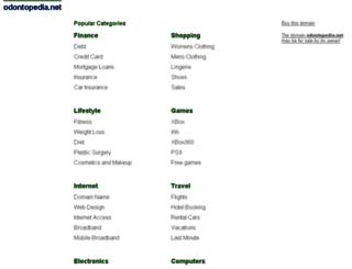 odontopedia.net screenshot