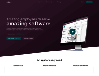 odoo.com screenshot