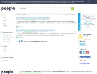 odorama.splinder.com screenshot