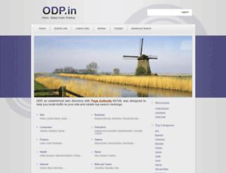 odp.in screenshot
