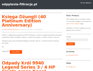 odpylania-filtracja.pl screenshot