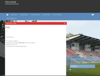 odra.opole.pl screenshot
