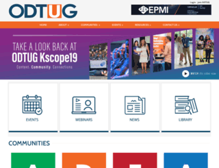 odtug.com screenshot