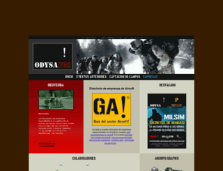 odysapro.es screenshot