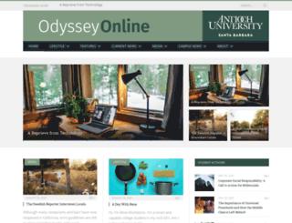 odyssey.antiochsb.edu screenshot