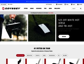 odysseygolf.com screenshot