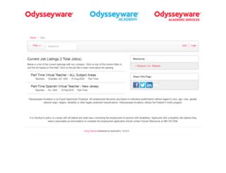 odysseywareacademy.applicantpro.com screenshot
