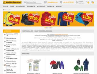 odziez-robocza.com screenshot