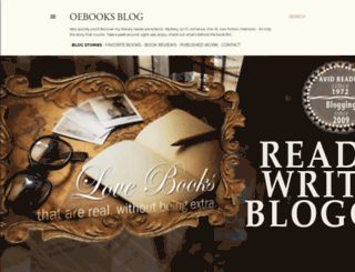 oebooks.blogspot.com screenshot