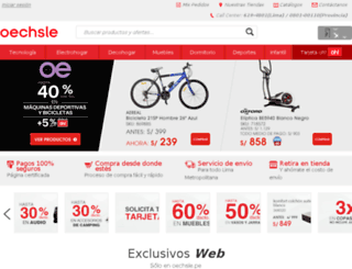 oechsle.com.pe screenshot