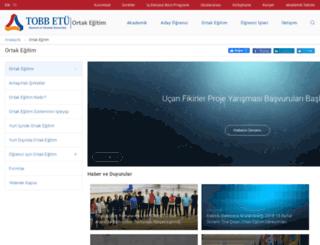 oekg.etu.edu.tr screenshot