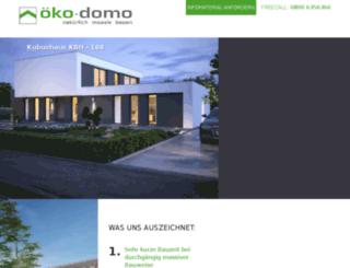 oeko-domo.de screenshot