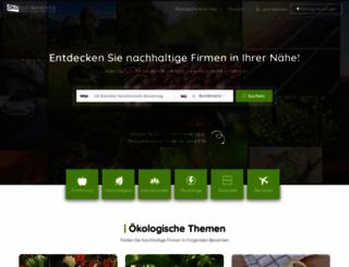 oekosuchmaschine.de screenshot