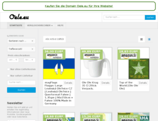 oele.eu screenshot
