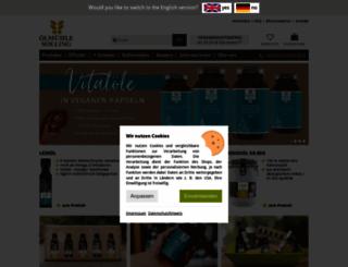 oelmuehle-solling.de screenshot