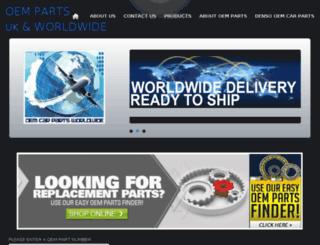 oempartsuk.com screenshot