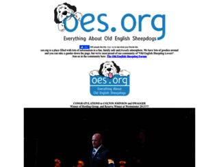 oes.org screenshot