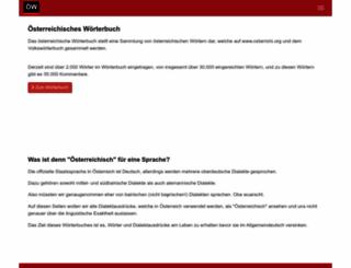 oesterreichisch.net screenshot