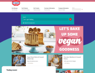 oetker.co.uk screenshot