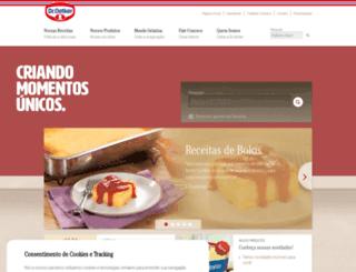 oetker.com.br screenshot