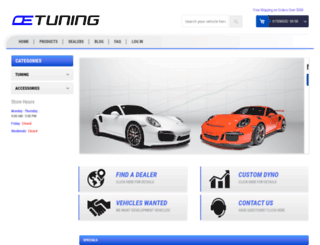 oetuning.com screenshot