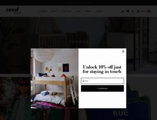 oeufnyc.com screenshot