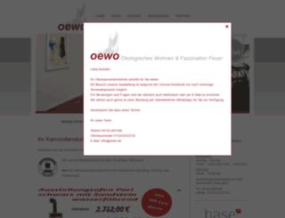 oewo.de screenshot