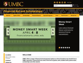 ofas.umbc.edu screenshot